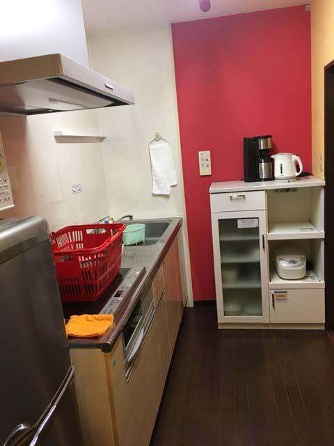 「ポイントバケーション軽井沢」のキッチンはOLの一人暮らし気分を味わえる