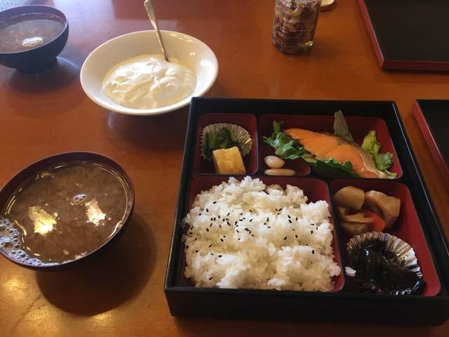 「ポイントバケーション軽井沢」で食べた朝ごはんのお弁当(朝食)
