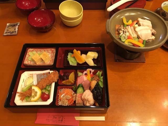 「ポイントバケーション軽井沢」で食べた弁当(夕食)