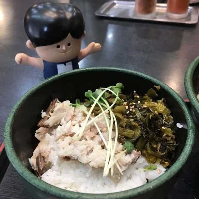 ゆで太郎の朝定食「おろし焼きさばめしセット」360円食レポ