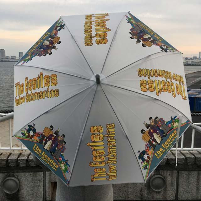 婦人服と雑貨のブランドniko and ...(ニコアンド)とビートルズがコラボ、イエローサブマリン全面プリントの傘を1200円で買ったよ!