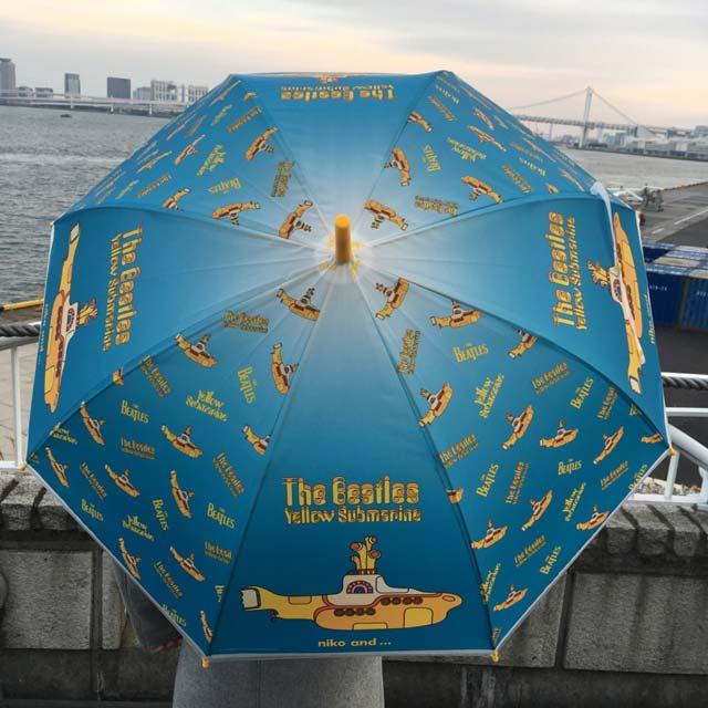 niko and ...(ニコアンド)×ビートルズの傘「黄色い潜水艦柄」