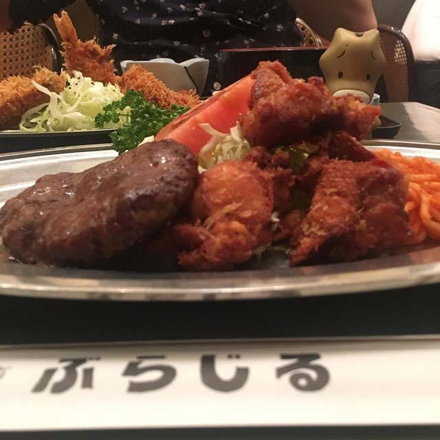 浜松町ランチ|ぶらじるはガッツリ系定食メニューが豊富な昔ながらの洋食屋