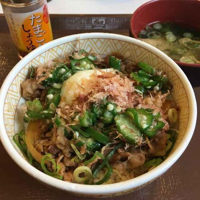 【実食!】すき家の朝定食「まぜのっけごはん朝食」食レポ