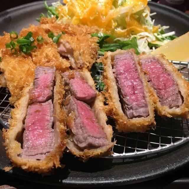 浜松町ランチ|串亭の極上牛カツランチ1000円は1日10食限定