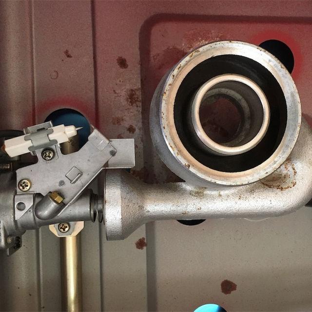 グレーのガスコンロが嫌い グリル付きのガスコンロが嫌い そんな私が選んだおしゃれなガスコンロとは? 日立ガスコンロ1984年