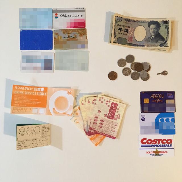 ミニマリストアラフィフサラリーマンの財布、ビフォーアフター