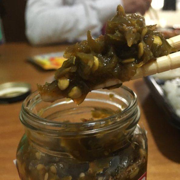 京都じゃこ兵衛の「青唐辛子漬け」辛味の強い青唐辛子は白ご飯のお供にぴったり