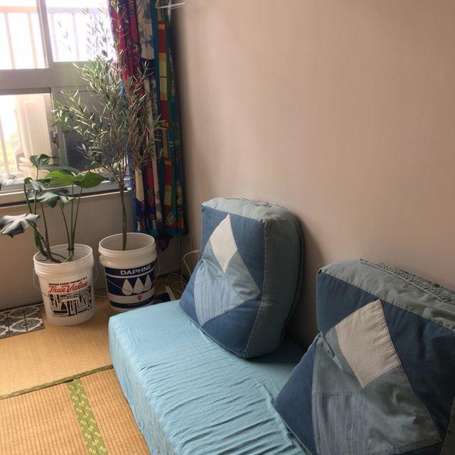 6畳間(リビング兼寝室として使用) WEB内覧会