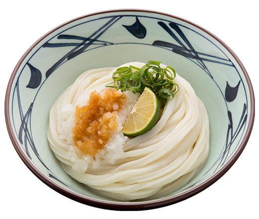 丸亀製麺のおすすめメニュー おろし醤油うどん