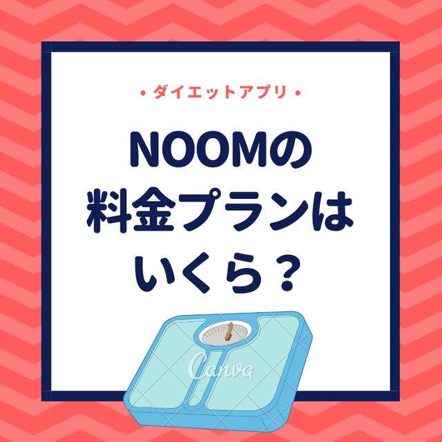 ダイエットアプリのNoom(ヌーム)の料金プランがホームページに掲載されていない?月会費はいくらなのか?