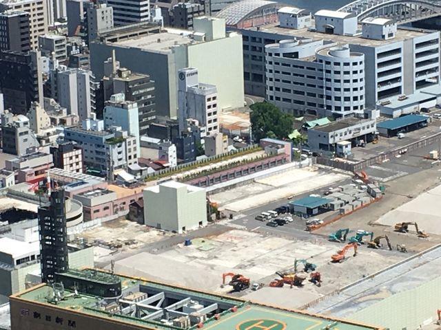 築地市場が閉場して7ヶ月後部分撮影
