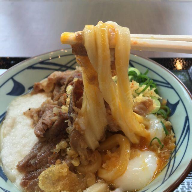 丸亀製麺の大人気メニュー「牛とろ玉うどん」が2019年もかえってきたぞ〜!最速食レポ