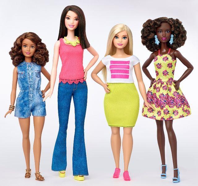 バービー人形が進化!義足に車椅子さまざまな人種と体型にみる美の多様化