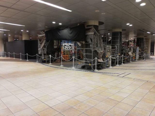 日本テレビ夏イベント「超 汐留パラダイス 2019」に鬼邪高校の舞台セットをモチーフにした「HiGH&LOW THE WORST THE BASE」出現!?