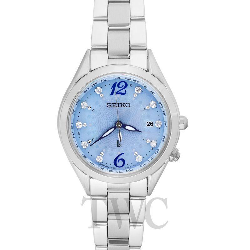 ミニマリストが選ぶ女性用腕時計その1:セイコー ルキア(Seiko Lukia SSQV043)