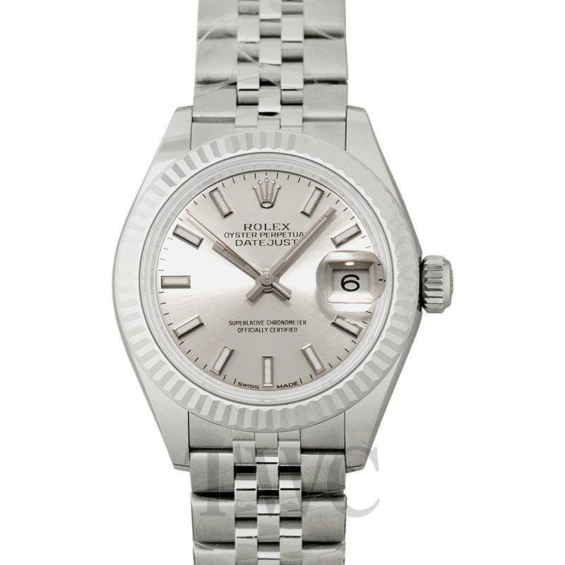 ミニマリストが選ぶ女性用腕時計その2:ロレックス レディ デイトジャスト(Lady-Datejust 28 Sliver 18k White Gold/Steel 28mm)