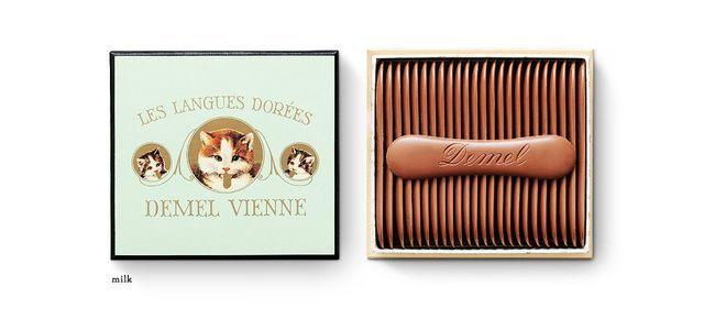 デメルの「ソリッドチョコ 猫ラベル」はかわいくて濃厚!おいしくてオススメ