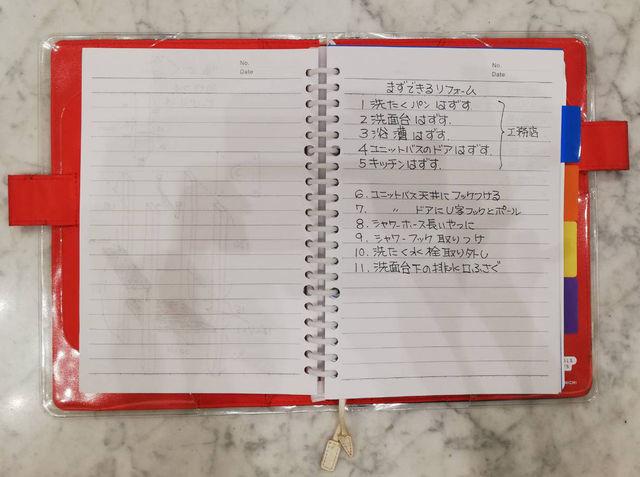 ほぼ日手帳カバーをリユース(再利用) ルーズリーフバインダー