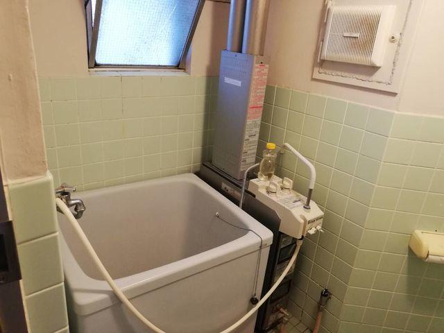 浴槽の撤去