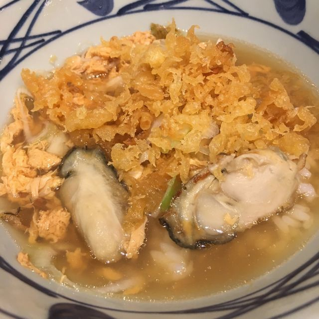 丸亀製麺「牡蠣づくし玉子あんかけうどん」美味しい食べ方の裏技
