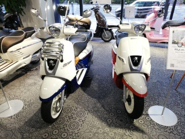 プジョーの原付バイクは、価格が安い&かわいい【ジャンゴ125cc】