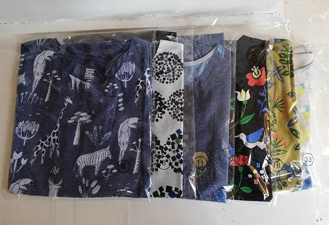 2020グラニフ福袋ネタバレ|6枚入って5500円の大当たり福袋