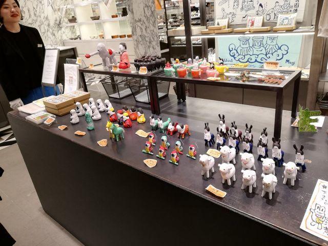 琉球張子ロードワークスの展示即売会at銀座松坂屋