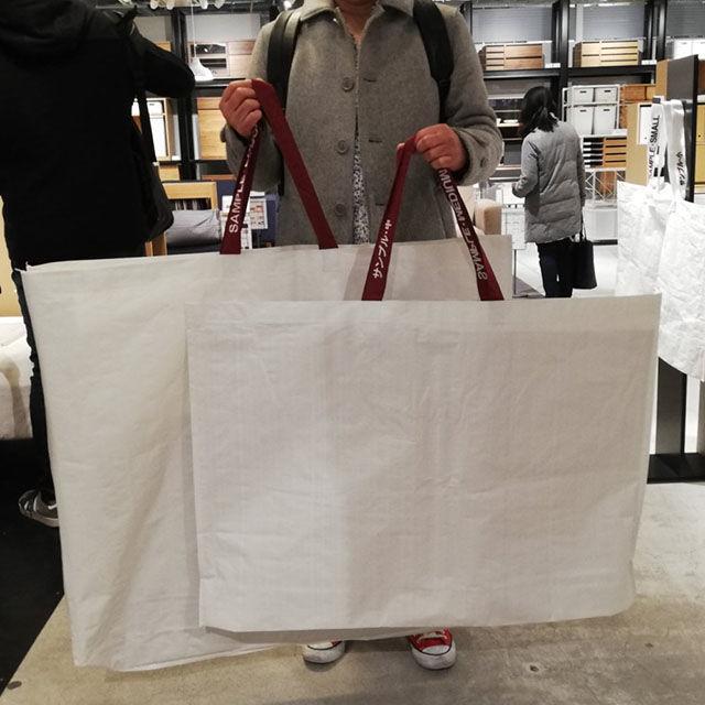 無印用品の再生ポリプロピレンバッグが超便利で激アツなので知らしめたい