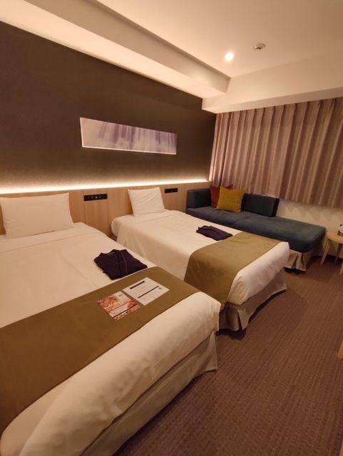 Hotel MONday 豊洲(ホテル マンデー TOYOSU)は客室もおしゃれで快適