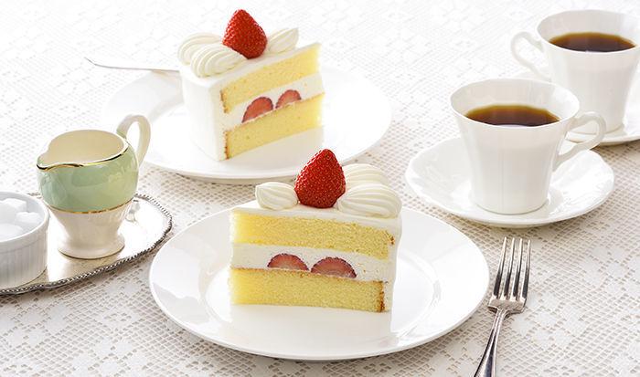 「銀座コージーコーナー」売り上げ2位:苺のショートケーキ