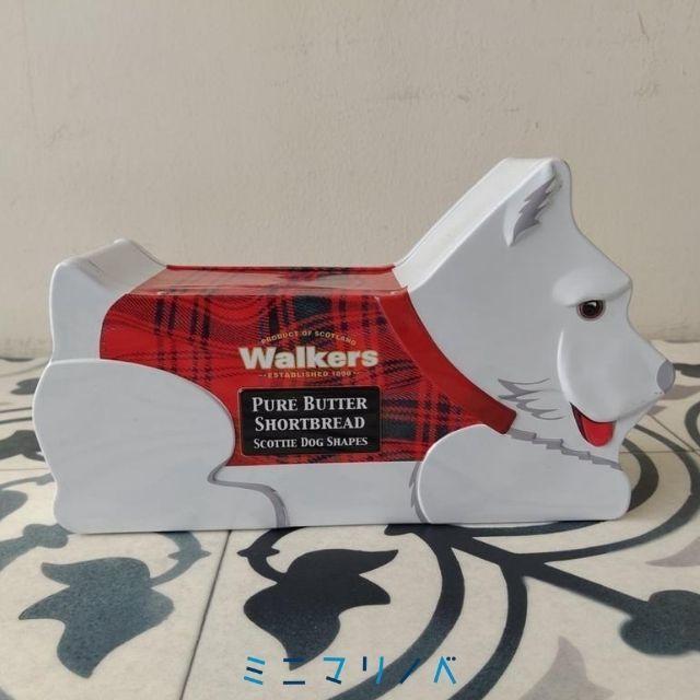 ウォーカーズのスコティッシュドッグ缶(2013年白)