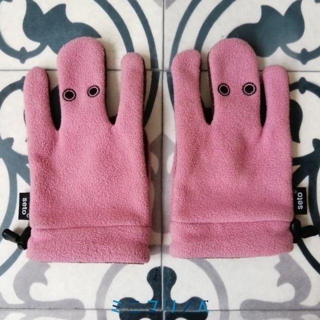 【再販希望】SETOのアートなミトン手袋テペッツ かわいい生物を手袋に