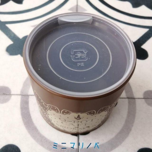 【Q-pot×セーラームーンコラボ限定クッキー缶、中蓋】