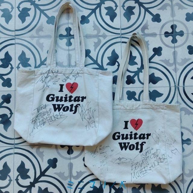 ギターウルフのキャンバストートバッグ
