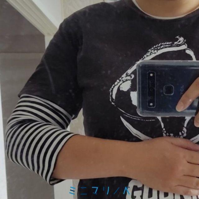 【ミニマリストのファッション】無印良品の七分袖Tシャツは超便利アイテム