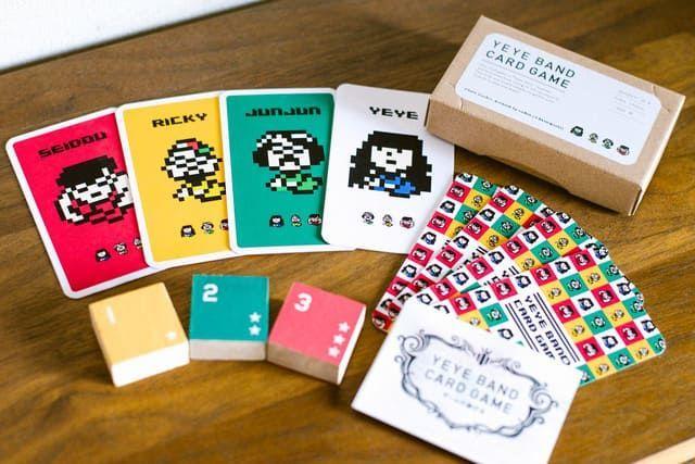 YeYeBANDのオリジナルカードゲーム