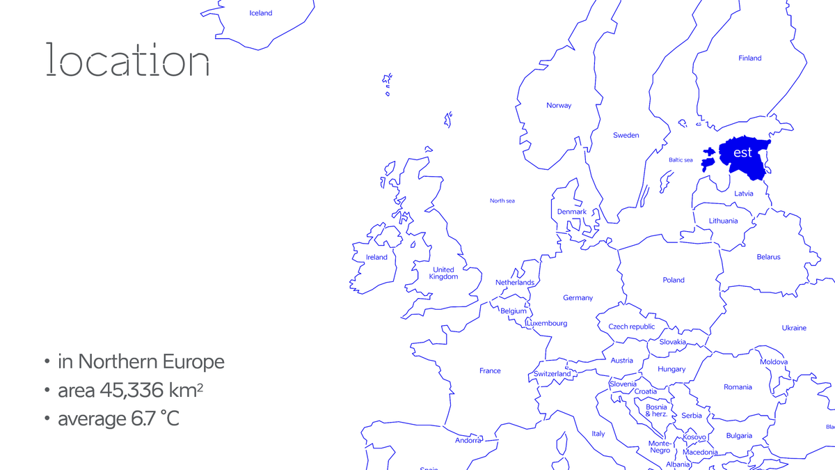 Estonia Location