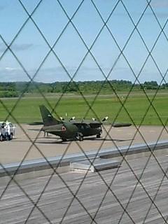 三菱MU-2だっけ@中標津空港