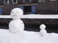 [雪だるま][小樽]