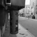 [街角][札幌][モノクロ]