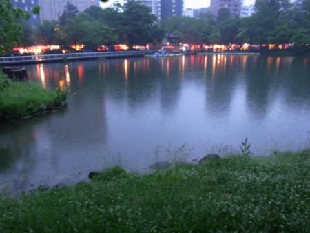 [雨][公園][札幌]