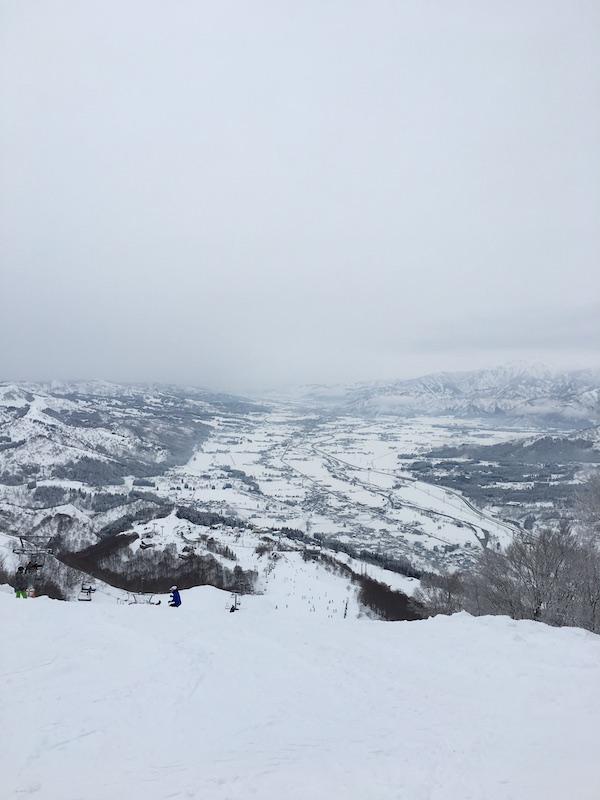 スノボ 山頂
