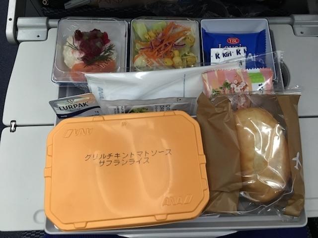 ANA NH869 機内食