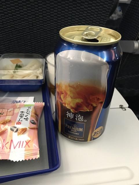 ANA NH870 機内食