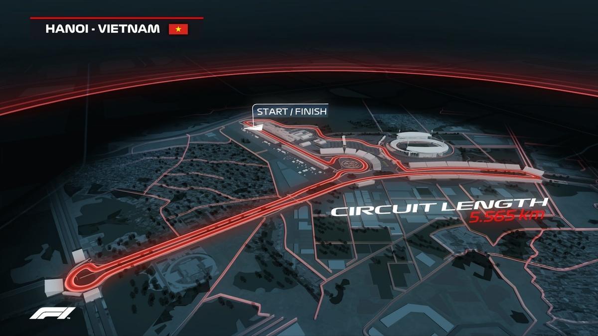 F1 2020 ベトナムグランプリ コース紹介