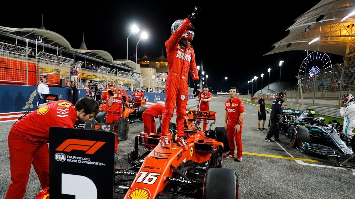 F1 2019 バーレーングランプリ 予選 ルクレールがポール