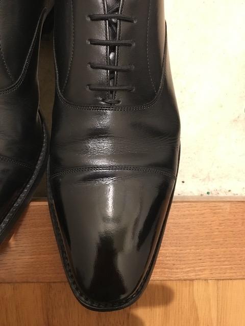 靴磨き シューシャイン 完成