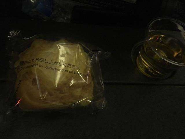 JAL JL10 夜食