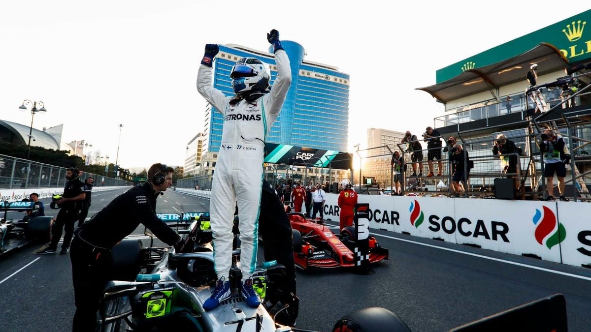 F1 アゼルバイジャングランプリ 2019 予選 PPはボッタス